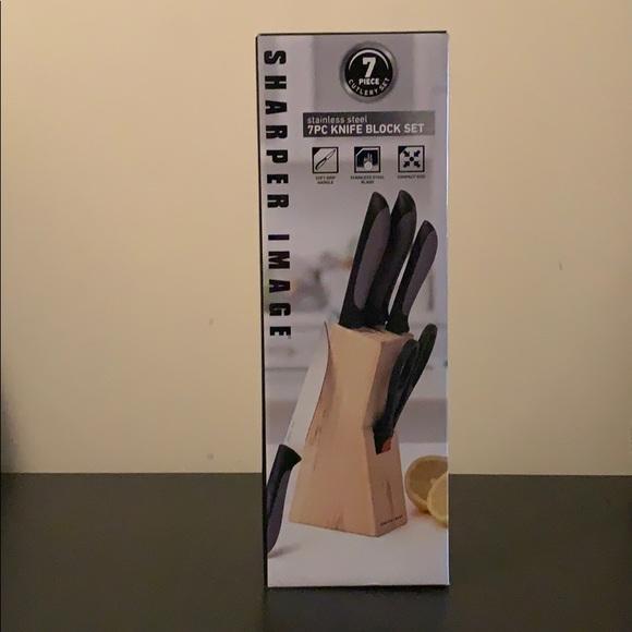 sharper image Other - 7pc knife block set